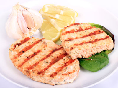 ATLANTIC SALMON BURGERS