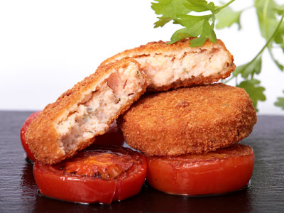 BREADED SALMON FISHCAKE