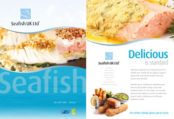 CONTRACT PROCESSING » SEAFISH UK // frozen seafood products for