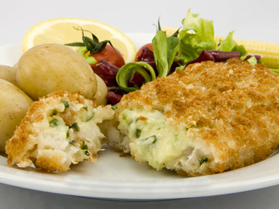 HADDOCK FLORENTINE CHEESE AND SPINACH