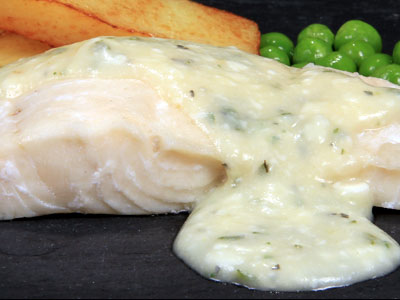HERB BUTTER COD FILLET
