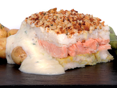 LEMON BUTTER AND DILL PINK SALMON FILLET