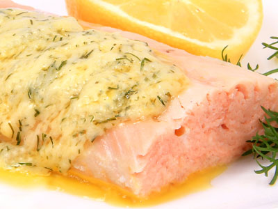 LEMON BUTTER SALMON FILLET