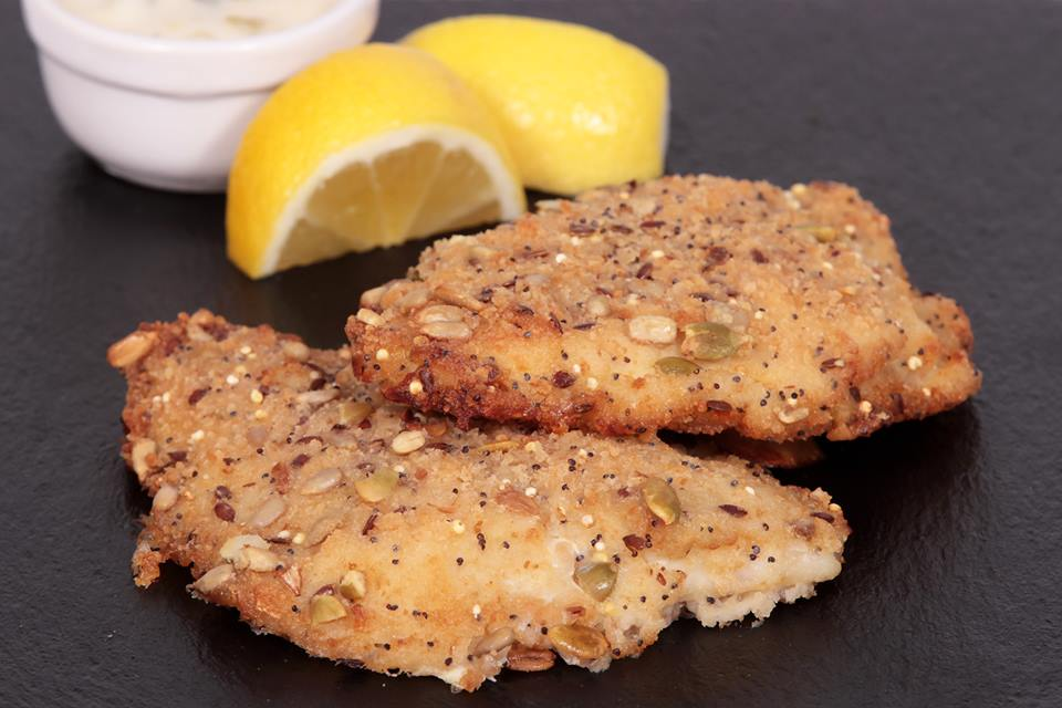 seeded haddock fillet